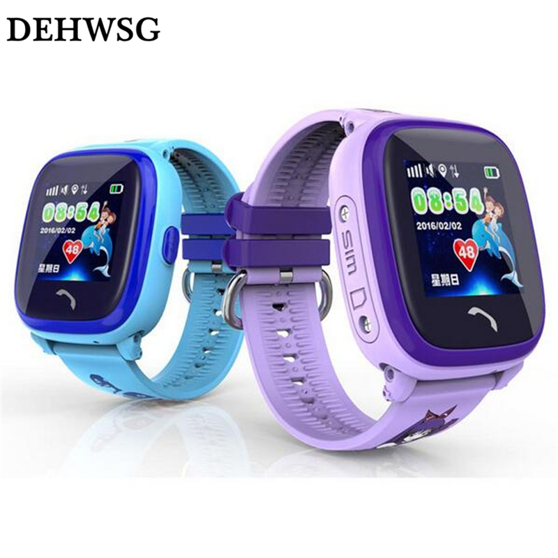 GPS Smart baby watch SOS Call Location Device Tracker Kids Safe Anti-Lost Monitor smartwatch IP67 Waterproof For Children q90