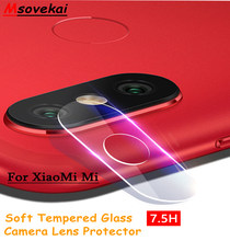 Back Camera Lens Tempered Glass For Xiaomi Mi 5S 6 Redmi 5 5A Note5 Pro Plus 6 6A 6 Pro Max2 3 Black shark Clear Protector Film(China)