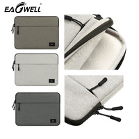 Universal Solid Laptop Sleeve Bag Pouch Cover For Apple Macbook Air Pro 11 13 15 Two