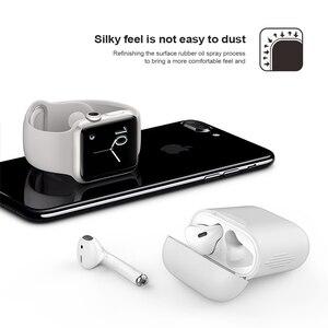Image 5 - Schokbestendig Voor airpods Case Oortelefoon TPU Siliconen Bluetooth Draadloze Hoofdtelefoon Protector Cover Voor apple airpods Case Cover
