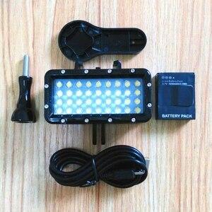 Image 5 - جديد الغوص إضاءة مقاومة للماء LED يده الدعامات حامل ل GoPro بطل 5 6 7 8 شاومي يي 4K Mijia sjcam SJ6 sj8/9 EKEN H9R كاميرا