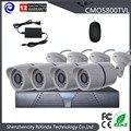 Cheap 4CH HD 720P DVR CMOS 800TVL CCTV Camera Kit OUTDOOR Anolog Bullet Camera HOME Surveillance System
