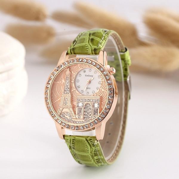 9b333747ee7 Compre Funique Relógios De Pulso De Quartzo Moda Casual Paris ...