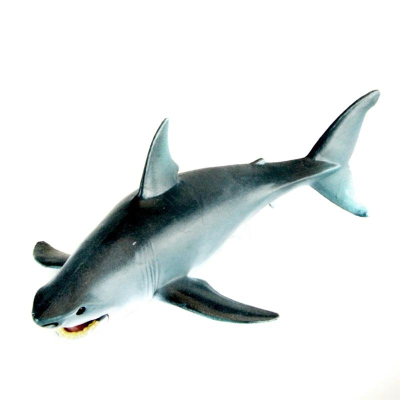 Lemon Shark Toys : Starz animals great white shark model plastic fish action