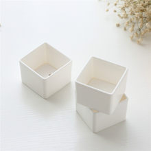 Hot sale Succulent Plant Fleshy Flower Pot Square Box Decorative Container Garden Supplies(China)