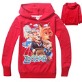 ZOOTOPIA Girls Boys Children Clothes Sets Autumn Cotton Sport Kids Soccer Football T-shirt Outfits  Long-sleeved Hoodies Shirt