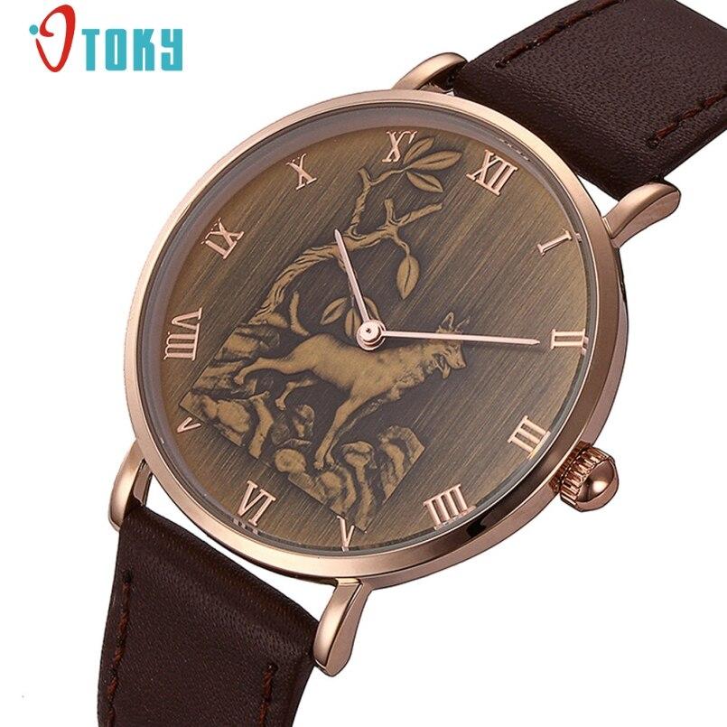Excellent Quality Brand Mens Watch Quartz Watches Men Watches Top Luxury Dog Pattern Design Vintage Relogio Masculino Gift