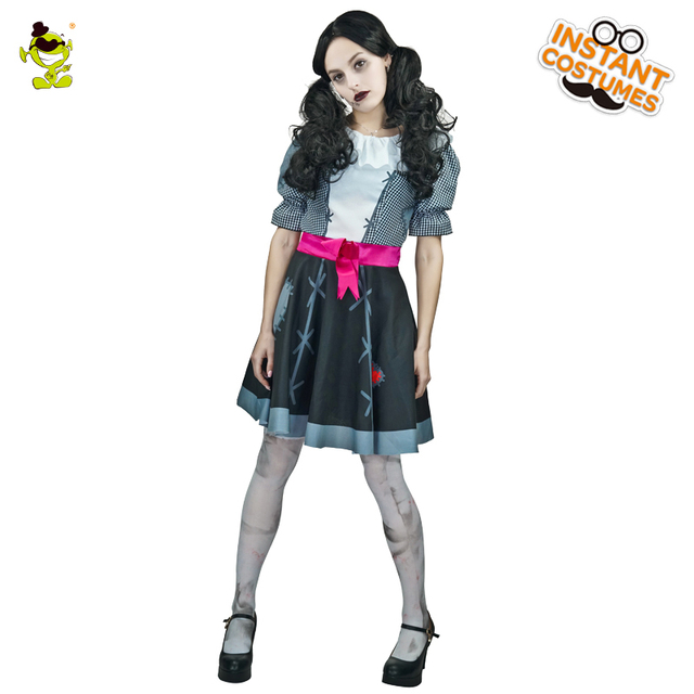 Girl Zombie Marionette Costume Halloween Costume Horror Halloween Ghost For Party Cosplay Fancy Dress Outfits  sc 1 st  AliExpress.com & Girl Zombie Marionette Costume Halloween Costume Horror Halloween ...
