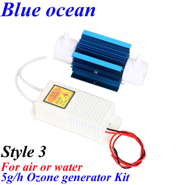 BO-2205QNAOS, AC220V/AC110V 5g/h adjustable Quartz tube ozone generator Kit Wholesale all kinds of ozone generator