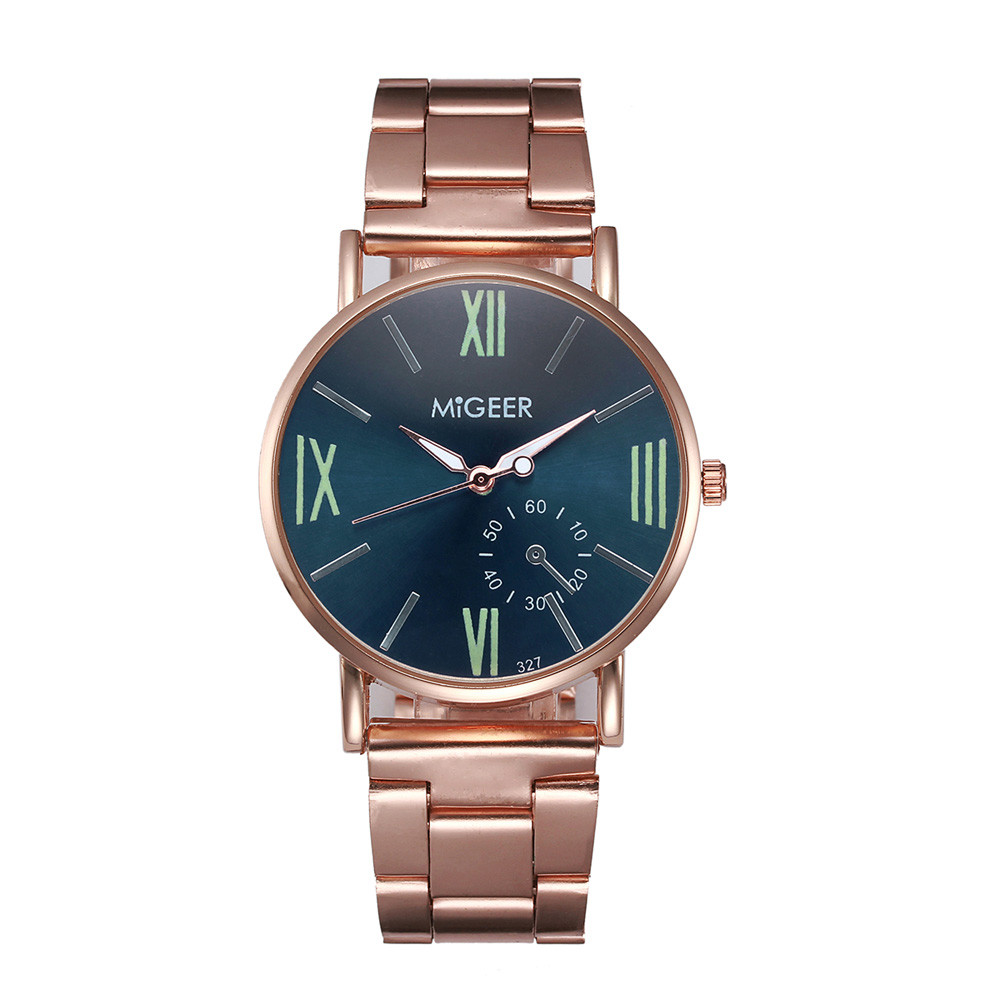 Relogio Masculino New Rose Gold Men Watch Women's Watches Stainless Steel Men's Women Watches saat reloj hombre for dropshipping dropshipping fashion stainless steel rose gold