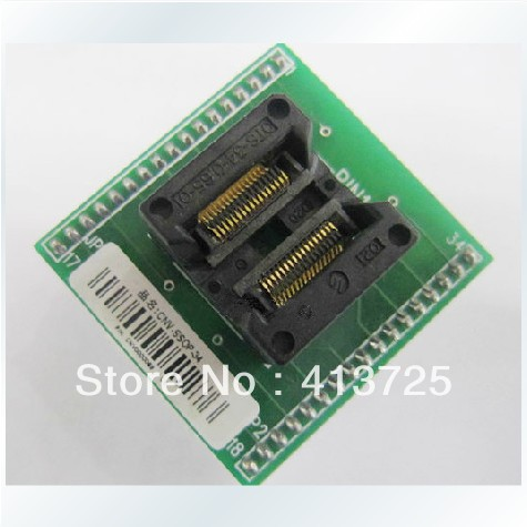 New import SSOP34 CNV-SSOP-34 go DIP34 test adapter burn import cnv msop 8 test socket adapter convert burn msop8 to dip8