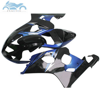Fairings kit for SUZUKI K1 K2 GSXR600 750 2001-2003 sport fairing kits GSXR750 GSXR 600 01 02 03 blue black body SZ24