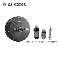 qs motor 3000W Spoke bldc hub motor with Statorade Ferrofluid for electric bicycle