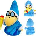 "1 pc Azul Novo Super Mario Bros Plush Doll Brinquedo Macio Presente-Kamek Magikoopa 7"""