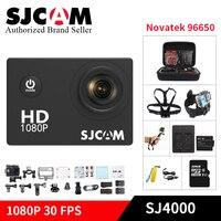 Originale SJCAM SJ4000 Action Camera 2.0 pollice Diving 30 M Impermeabile 12MP Sensore Sport Estremi DV Action Biciclette kamera sj yi dvr