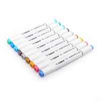 TOUCHNEW Choose Any 30 40 60 80 168 Colors Art Marker Set Dual Headed Sketch Marker