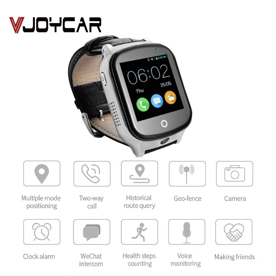 3G Smart Watch GPS Camera SOS Monitoring Positioning Phone Two Way Conversation Accurate Locator Voice Message