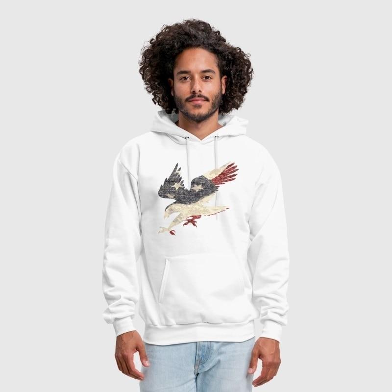 76b8bb7bec7dc Shop 4th Of July Apparel T Shirts online Spreadshirt Source · US 25 98 Men  s Old Glory American Flag Eagle Clothing Apparel USA Custom Print Handmade