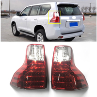 CITYCARAUTO LED TAIL LAMP REAR LIGHTING PARKING SIGNAL BRAKE DRL FIT FOR PRADO 2010 2016 EXTERIOR AUTO ACCESSORIES REVERSE LAMP