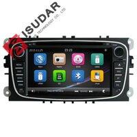 2 din 7 inç araba dvd oynatıcı ford/mondeo/s-max/connect/galaxy/focus 2 2008-2011 3g konak radyo gps navi bt 1080 p ipod harita