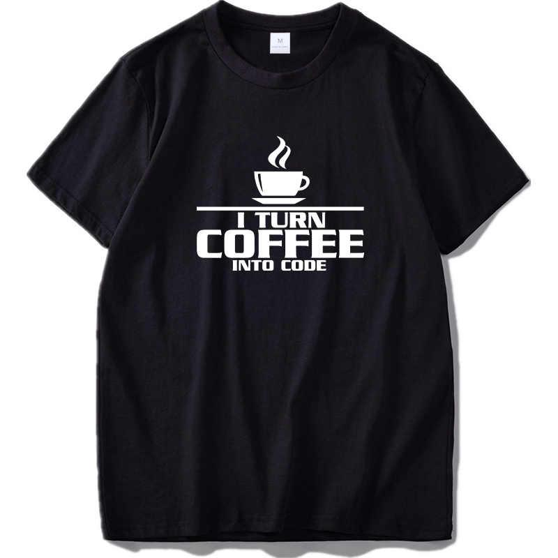 Çalışır benim makinesi Tshirt bilgisayar Java mektup Geek yüksek kalite ekip boyun ab boyutu % 100% pamuklu tişört