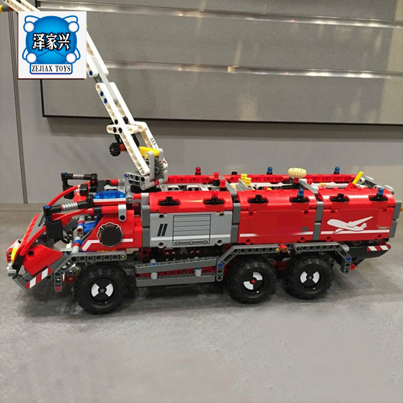 Diy Genuine Technic Mechanical Series The Rescue Vehicle Set Children Lepins Educational Building Blocks Bricks Figures Toy Gift the rescue