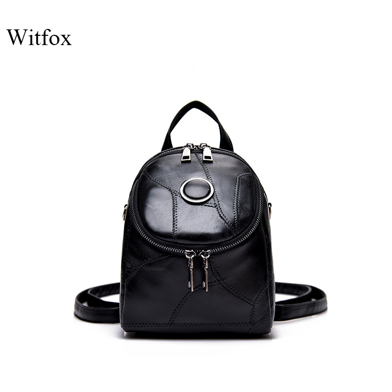 Mini Backpack Genuine Leather Shoulder Bag For Women Small 2019 New Fashion Style Shoulder Bags For Girls Book Shell Gift