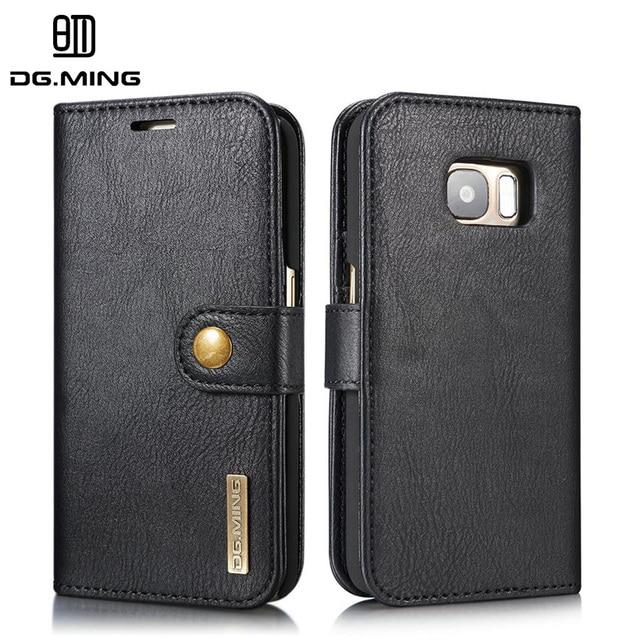 DG.MING Case For Samsung Galaxy S7 G930 G9300 SM-G930A SM-G930R4 G930F G930W8 G930S G930FD SM-G930w8 Wallet With Card Covers