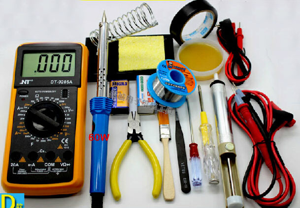 Comprar dt9205m mult metro digital kit kit - Soldador de estano ...