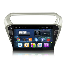 "10.1"" Quad Core Android 4.4 1024X600 Car Stereo Auido Head Unit Headunit Autoradio for Citroen Elysee 3G WIFI DVR MirrorLink(China)"