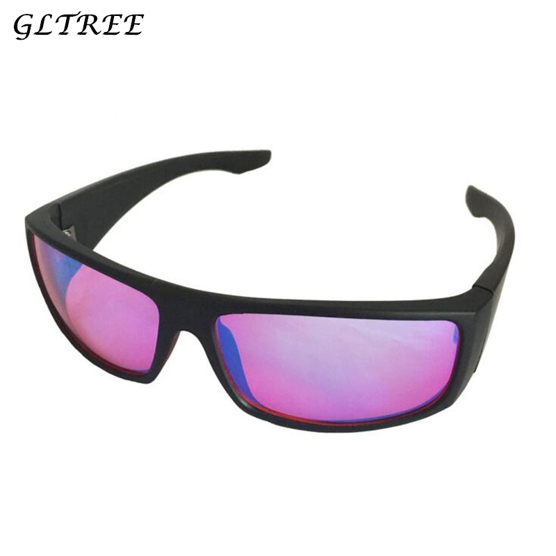 GLTREE 2018 Color Blindness Glasses Spectacles Correction Women Men Red Green Blind Card Sunglasses Test driver