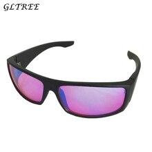 GLTREE 2018 Color Blindness Glasses Spectacles Correction Women Men Red Green Blind Card Sunglasses Test drivers Eyewear G391