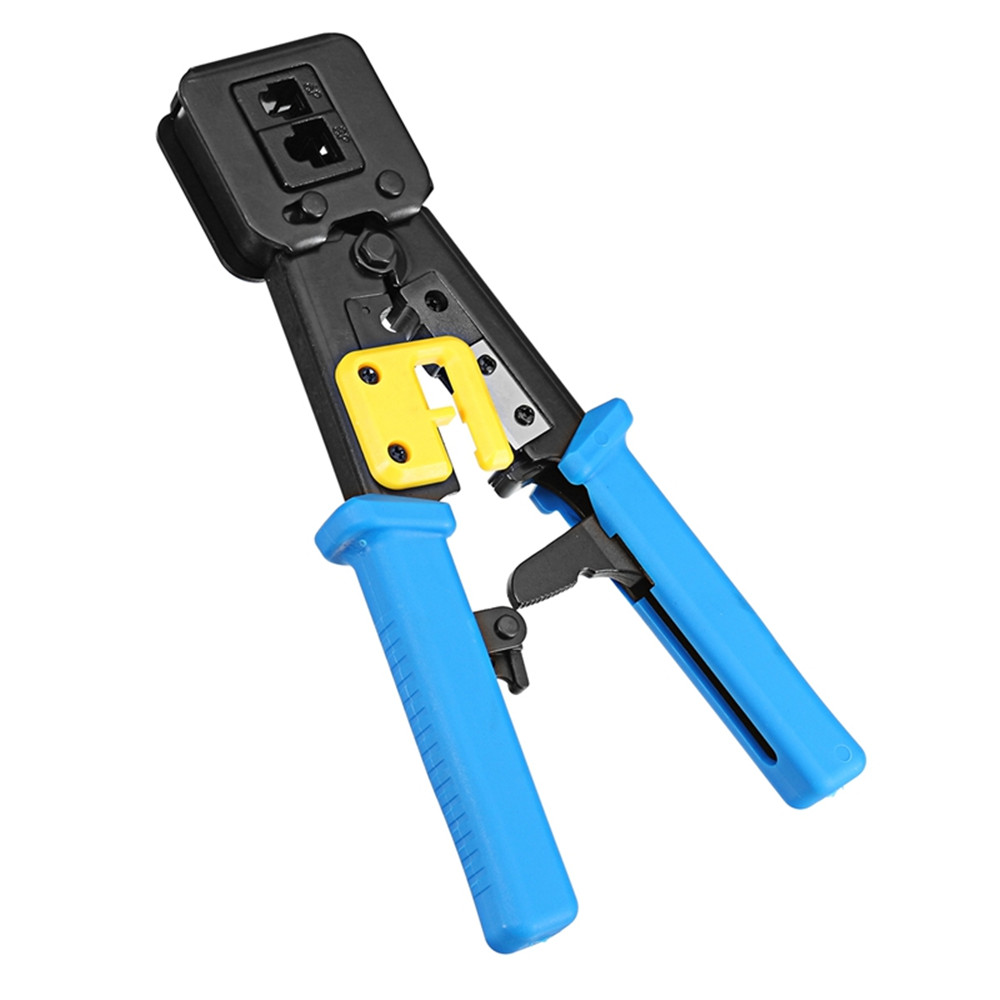 Multi-kinetic Energy EZ Network Clamp RJ11 5 6P 8 P Rj45 Crimper Tools Crimping Pliers Compression Rj45 Stripper