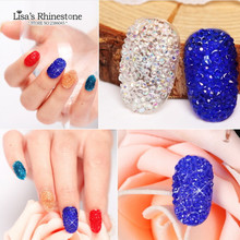 3D Fashion Crystal Pixie Micro 1.1-1.3mm Mini Nail Arts Rhinestones Decoration For DIY Nail, Approx 14400pcs