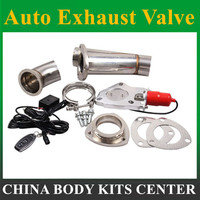 2.25 or 2.5 or 3 Electric Stainless Exhaust Cutout Dump Valve switch without Remote control