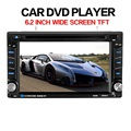 Universal Nova Marca de 6.2 polegada 2DIN no Painel Do Carro CD DVD Player de Rádio Da Tela De Toque Estéreo Bluetooth Hands-free microfone embutido