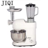 JIQI batidora Eléctrica Multifuncional Máquina exprimidor Máquina de amasar la masa Batidor de huevos batir 5.2L Salchicha picadora de Carne Mezclador del alimento
