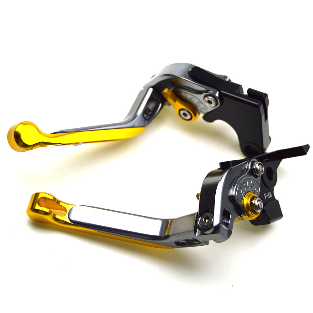 Motorcycle accessories cnc adjustable Foldable brake clutch levers for YAMAHA XJ6 DIVERSION 2009-2015