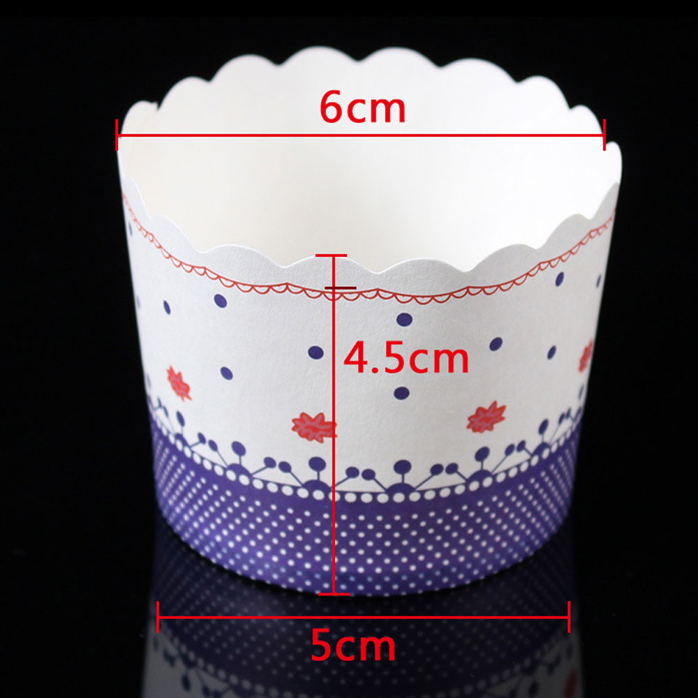 100pcs Colorful Paper Cake Cupcake Liner Case Wrapper Muffin Baking Cup Party Taza De Papel Pastel #30 Kitchen,dining & Bar Bakeware