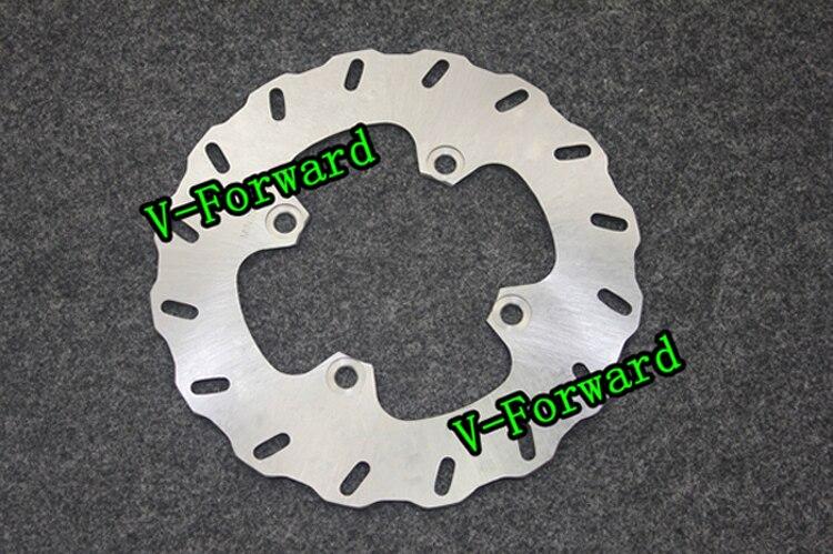Motorcycle Rear Brake Disc Rotors For GPXR750  86-90/ZR7/S 750 99 UP Universel motorcycle rear brake disc rotors for gtr 1000 86 93 universel
