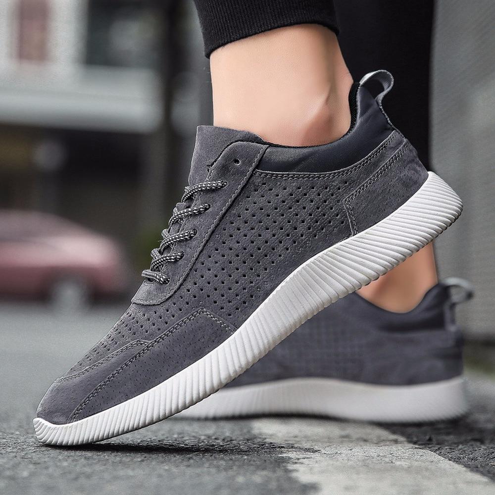 2018 új nyári ifjúsági divat bőr férfi cipő alkalmi cipő - Férfi cipők