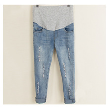 Maternity Jeans Women Pregnant Denim Pregnancy Clothes Trousers Maternity Leggings Pregnancy Clothing Pants hot sale fashion maternity jeans plus size slim casual cute bear denim jumpsuit overall pants trousers pregnancy clothes autum