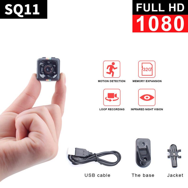 MD14 1080P HD IR Cam DV DVR Night Vision Mini Camera Record Hidden Camcorder