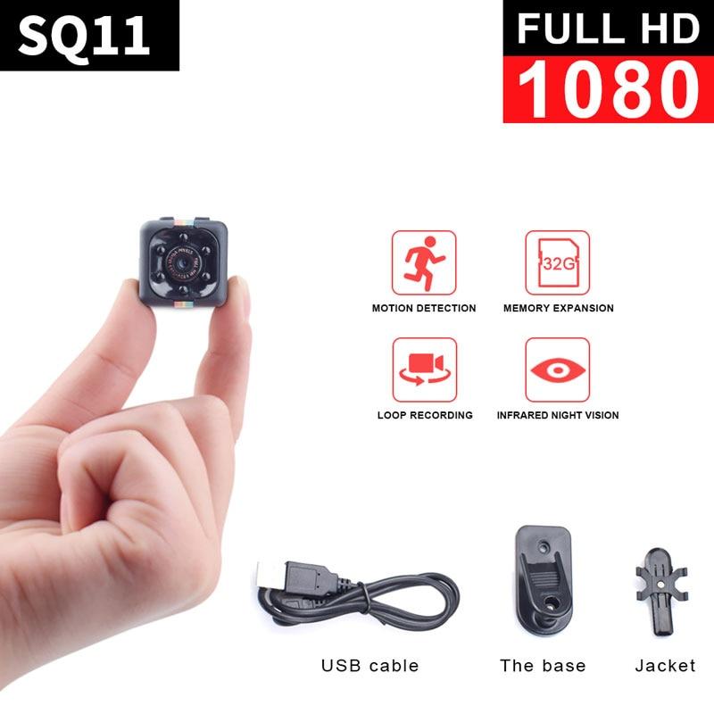 SQ11 Mini Camcorder HD Nachtzicht Mini Camera 1080P Aerial Sport - Camera en foto
