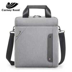 Image 2 - carneyroad Business 13 Inch Ipad Men Messenger Bag High Quality Waterproof Shoulder Bag Oxford Casual Men Crossbady Bag 2019