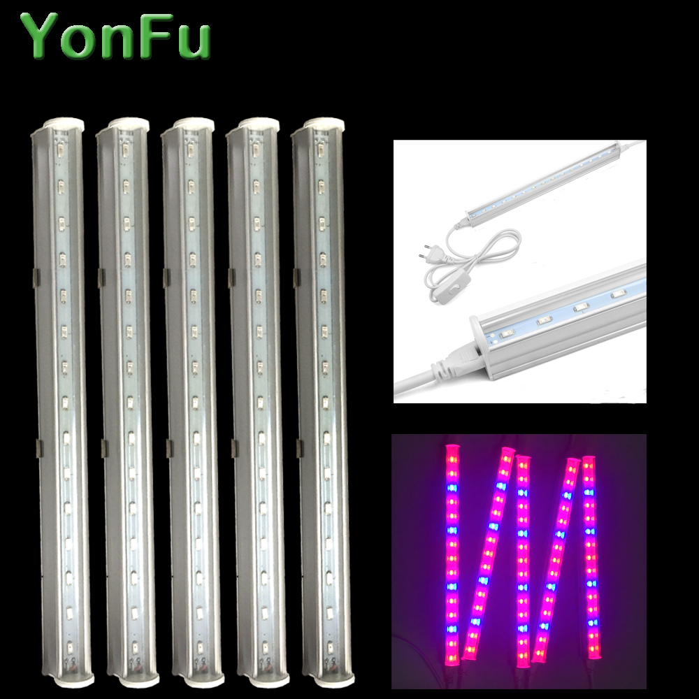 30W Led Grow Light Full Spectrum T5 Tube LED Indoor Plant Lamp Hydroponic system Greenhouse LED grow tent Lamps for plants