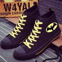 New Style Batman High Top Sneakers Men Canvas Shoes Sneakers Shoes Casual Shoes Leisure Shoes