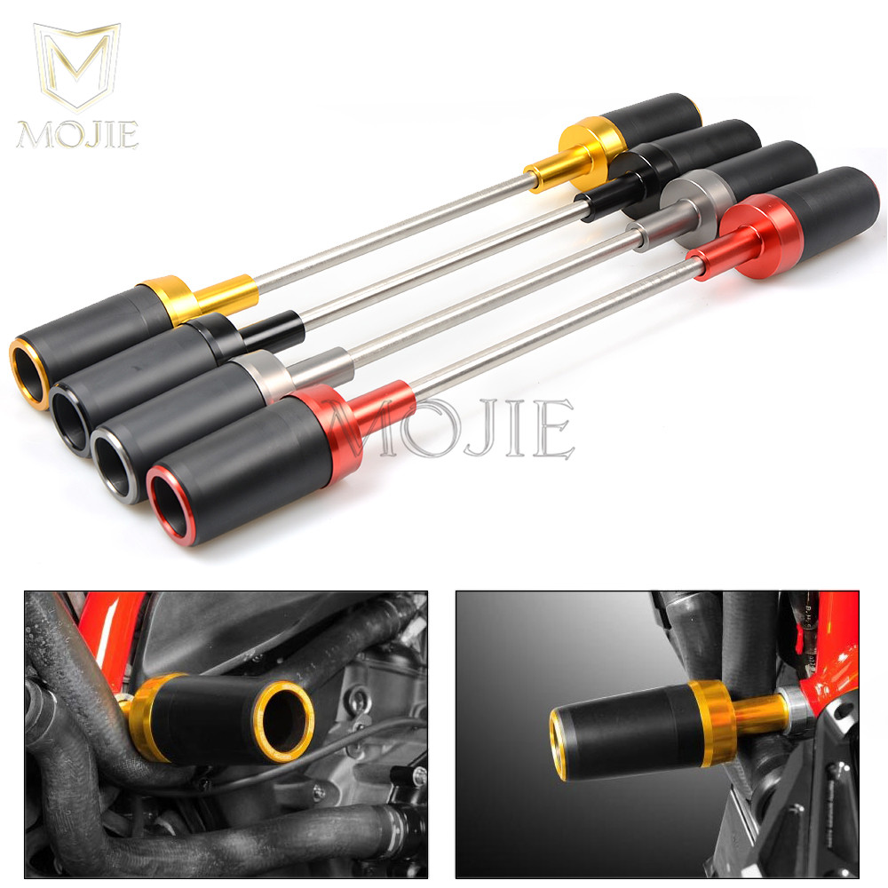 For Ducati Monster 696 795 796 S4R S2R 1100 1100S 1200 1200S Hypermotard 1100 1098 821 DIAVEL 1200 Motorcycle Frame Slider