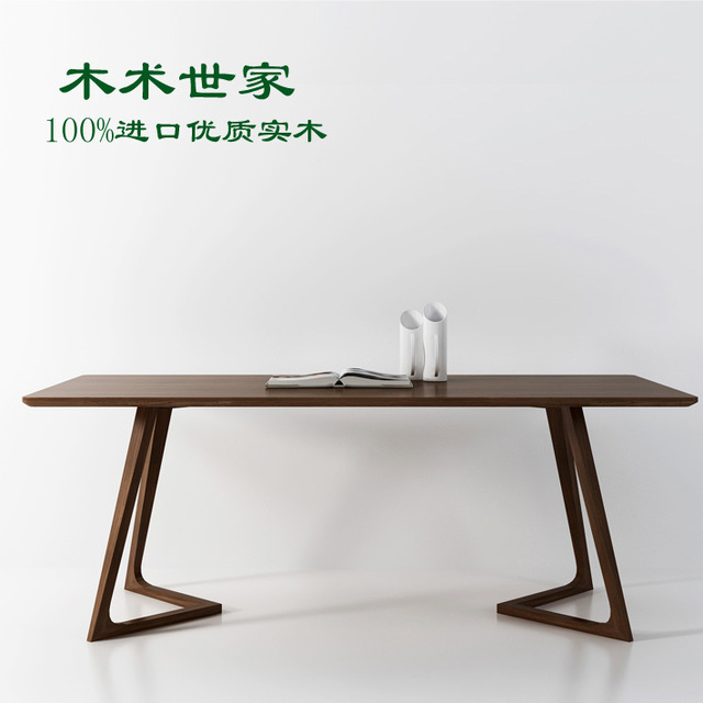 Aliexpress.com: comprar nordic combinación de madera maciza mesas ...