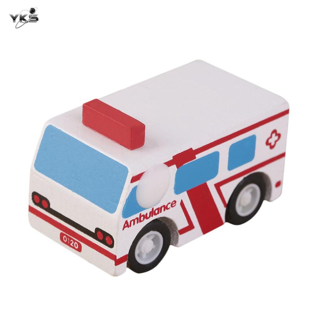 yks wooden toy vehicles bus children car educational puzzle toys multi pattern mini cars great
